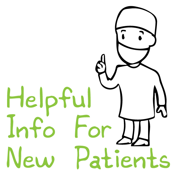 Helpful information for new patients